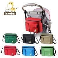 Термосумка – сумка для мамы и малыша на детскую коляску
