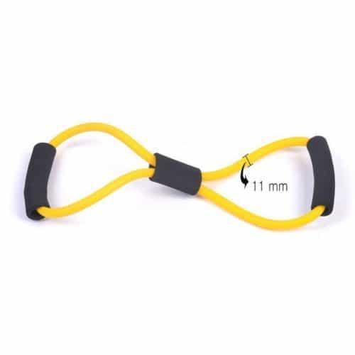 Тренажер эспандер мультифункциональный восьмерка для рук, ног