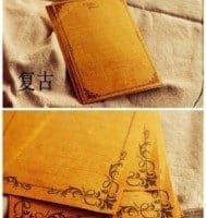 Винтажная бумага для писем, скрапбукинга