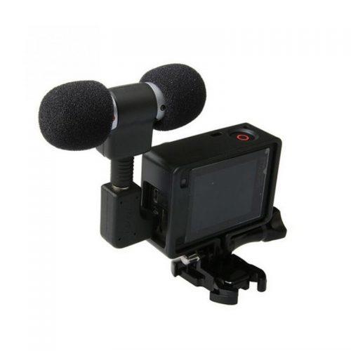 Внешний стерео микрофон для камеры GoPro Hero 3, 4