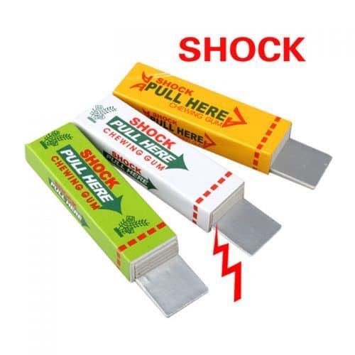 Жевательная резинка, жвачка шокер, электрошокер