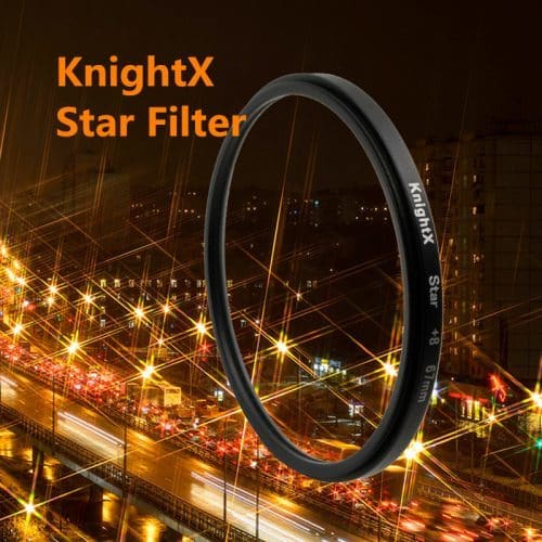 Звездный, лучевой фильр на объективы Canon