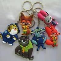 Брелок для ключей с героями мультфильма Зверополис
