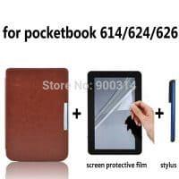 Чехол-обложка для электронной книги Pocketbook 614/624/626/640 (в наборе с пленкой и стилусом)