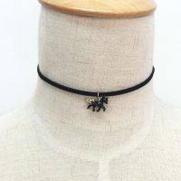 Чокер-украшение на шею с подвеской в виде единорога
