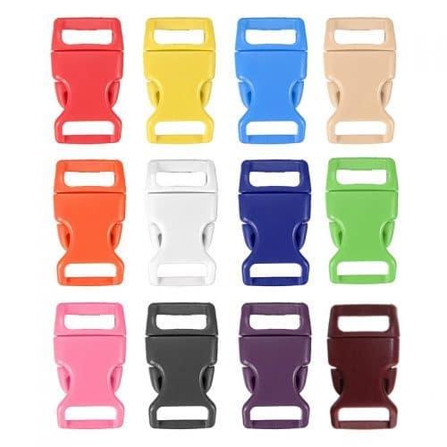 Карабины, застежки фастексы пластиковые для рюкзаков, ремней 10 шт.