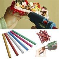 Клеевые стержни-палочки для пистолета 7 мм с блестками