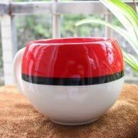 Кружка-чашка в виде покебола и Пикачу (Покемоны)