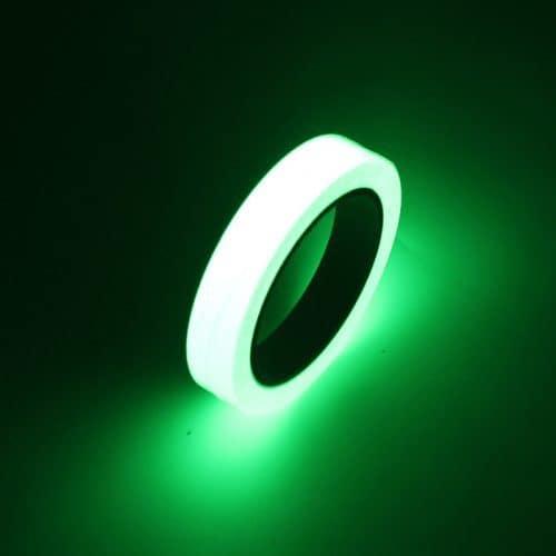 Лента-скотч самоклеющаяся светящаяся люминофорная светонакопительная