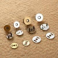 Магнитные кнопки, застежки для одежды, сумок (в наборе)
