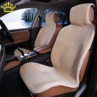 Меховые пушистые плюшевые чехлы на сиденья автомобиля