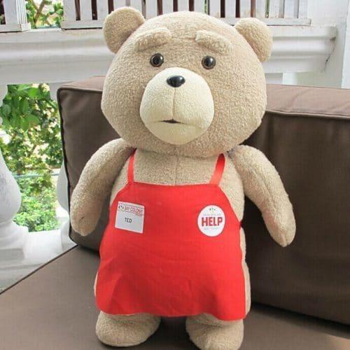 Мягкая плюшевая игрушка мишка Тед (фильм Третий лишний)