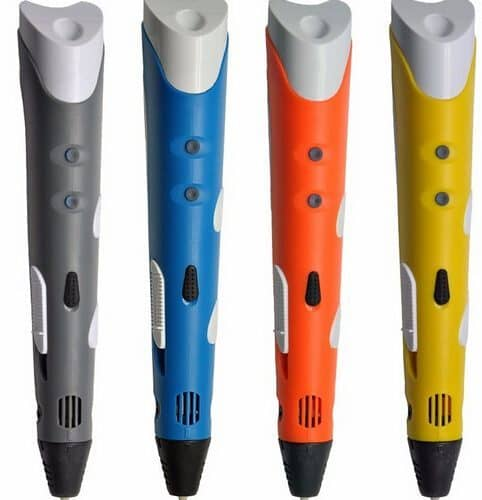 Myriwell 3D ручка для рисования пластиком (нити пластика в наборе)