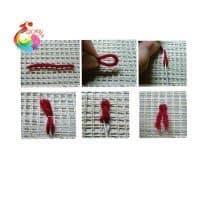 Набор для вышивания ковровой техникой