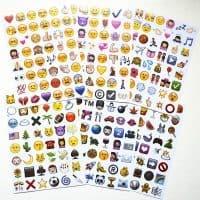 Набор наклеек Emoji (смайлики Эмоджи)