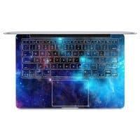 Наклейка на клавиатуру компьютера Apple Macbook Air космос, природа, пляж, пейзаж