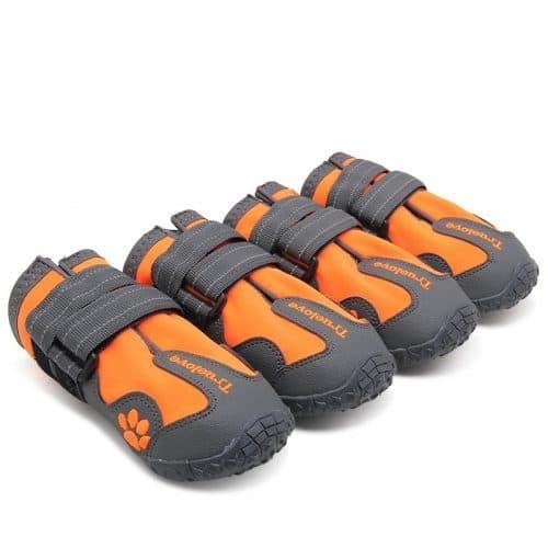 Непромокаемые ботинки для собак мелких и крупных пород