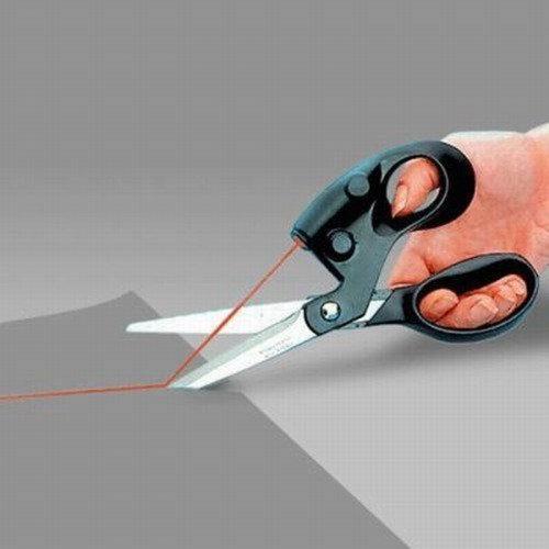 Ножницы с лазерным прицелом/наведением