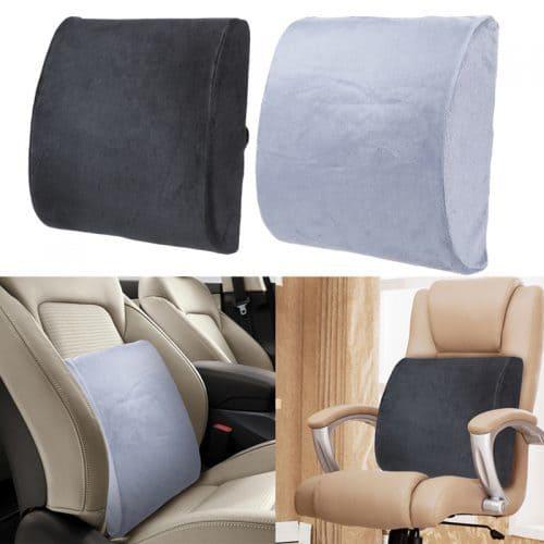 Ортопедическая подушка под поясницу в автомобиль, для кресла, стула