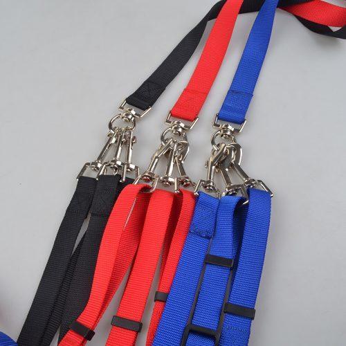 Ремешок, поводок для выгула 3 собак