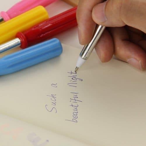 Шариковая ручка в виде отвертки (синие чернила)