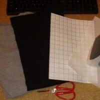 Термотрансферная бумага (пленка) для ткани, для перевода рисунка на ткань
