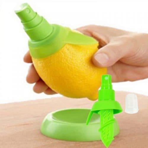 Цитрусовый спрей-насадка, распылитель для цитрусовых, ручная соковыжималка для лимона