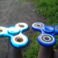 Спиннер hand spinner пальчиковая игрушка-антистресс на подшипнике для рук - фото из отзывов покупателей