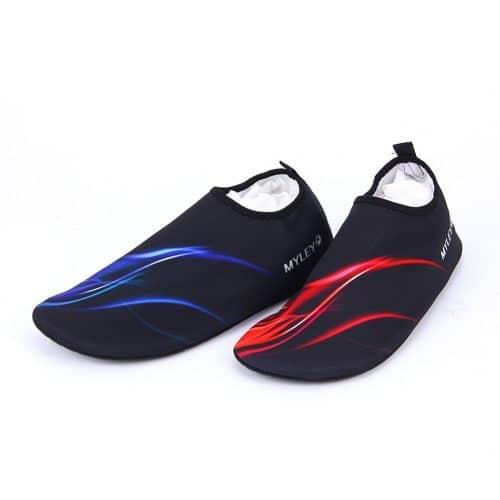 Аквашузы мужские женские (обувь для плавания, дайвинга, коралловые тапочки, акваобувь)