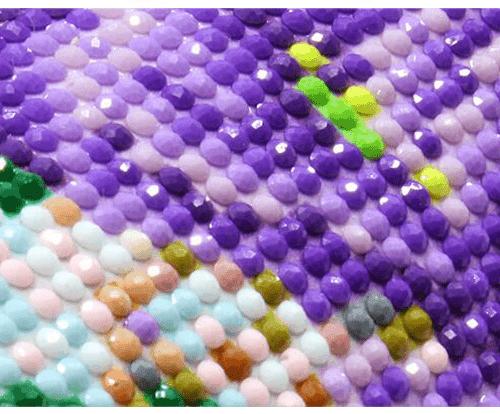 Алмазная вышивка-мозаика Снегири на рябине