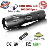 Алюминиевый масштабируемый светодиодный водонепроницаемый фонарик AloneFire E17 XM-L T6 3800LM LED