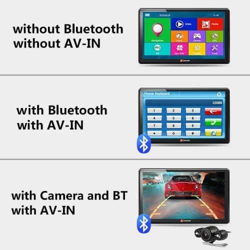Автомобильный gps-навигатор Junsun 7 дюймов HD FM 8 ГБ / 256 мБ DDR / 800 мГц