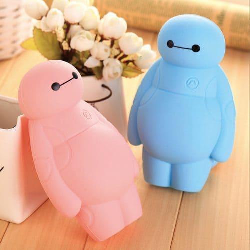 Бэймакс (Baymax) силиконовый пенал-игрушка
