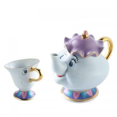 Чайный набор из мультфильма Красавица и чудовище