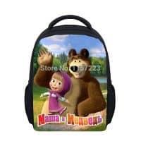Детский школьный рюкзак Маша и медведь