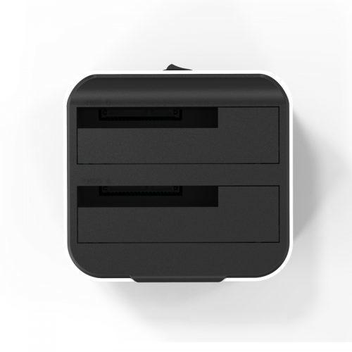 Док-станция для 2х жестких дисков HDD 2.5 3.5 Sata USB 3.0
