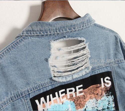 Джинсовка (джинсовая куртка) Where is my mind мужская/женская