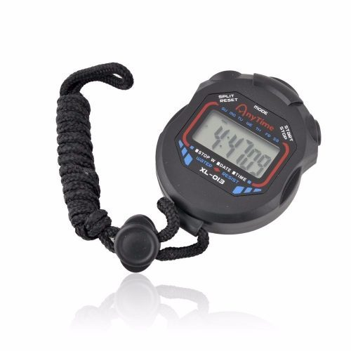 Электронный цифровой секундомер таймер спортивный со звуком для тренировок