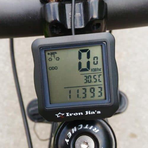 Электронный водонепроницаемый велосипедный спидометр