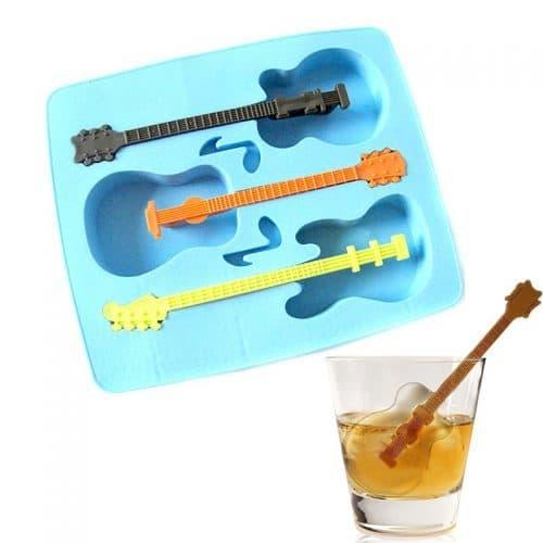 Форма для льда гитара