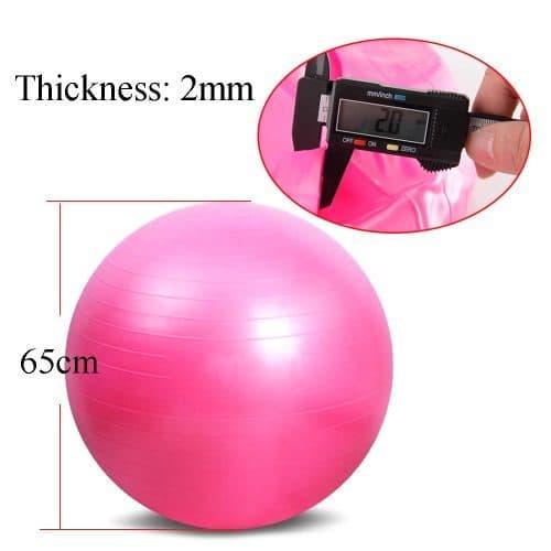 Гимнастический мяч для фитнеса Фитбол 65 см