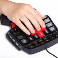 Игровая мини клавиатура для компьютера с подсветкой Delux Т9