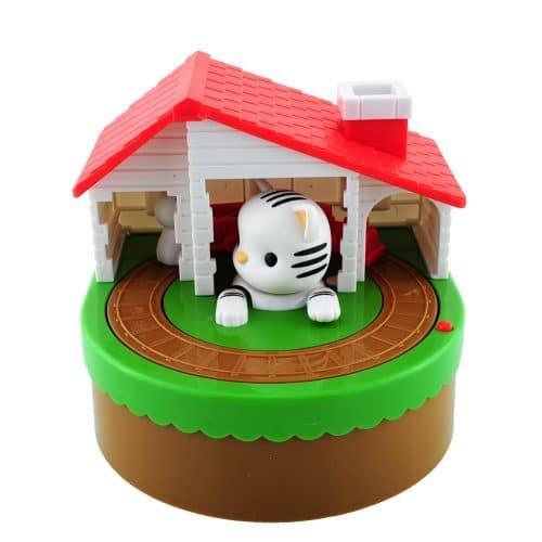 Интерактивная копилка кошки-мышки