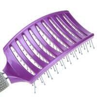 Изогнутая профессиональная большая массажная расческа щетка для волос