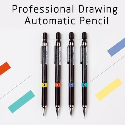 Канцелярский автоматический механический карандаш 0.3/0.5/0.7/0.9 мм и грифели-стержни