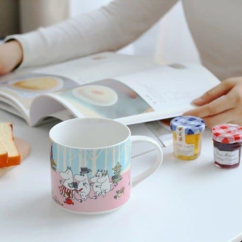 Керамическая кружка-чашка с Муми Троллями