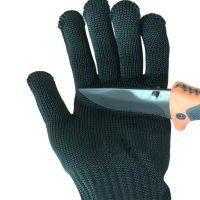 Кевларовые защитные рабочие перчатки для рук с проволокой от порезов