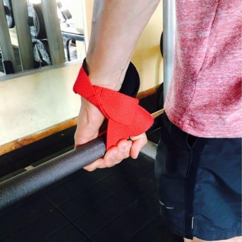 Кистевые лямки-ремни для становой тяги