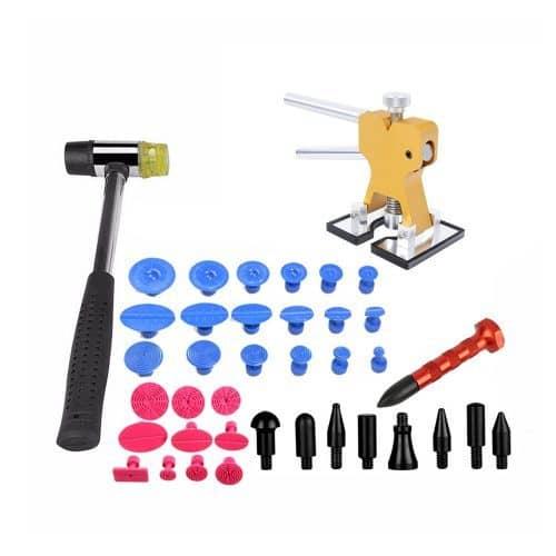 Клеевой рихтовочный набор инструментов для кузовного ремонта вмятин без покраски авто