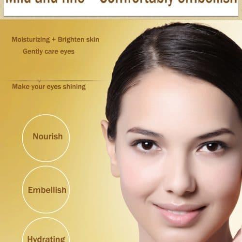 Коллагеновая увлажняющая омолаживающая маска для кожи вокруг глаз Bioaqua (80 шт./140 гр)